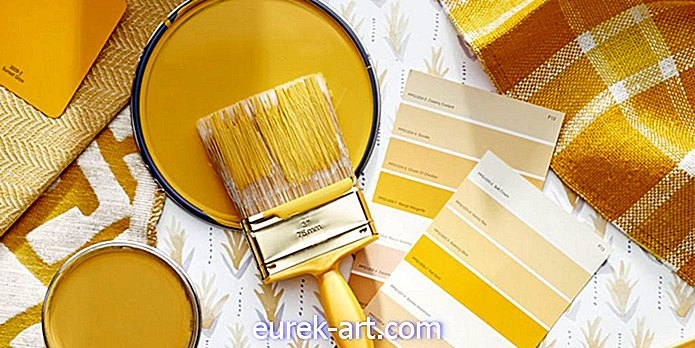 Marigold Adalah Warna Mengambil Alih Rumah Ini Spring