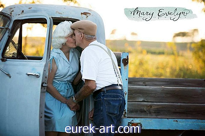 maaelu - See paar tähistas oma 57. pulma-aastapäeva fotopildiga, mis oli inspireeritud 'Sülearvutist'