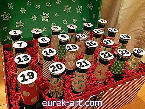 DIY 맥주 강림 달력은 근본적으로 최고의 크리스마스 선물입니다.-공예 및 DIY 프로젝트