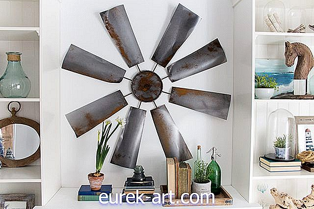 Fixer Upper Art: DIY Windmill Wall Decor-hantverk