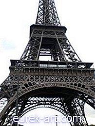 artisanat - Comment faire une tour Eiffel Origami
