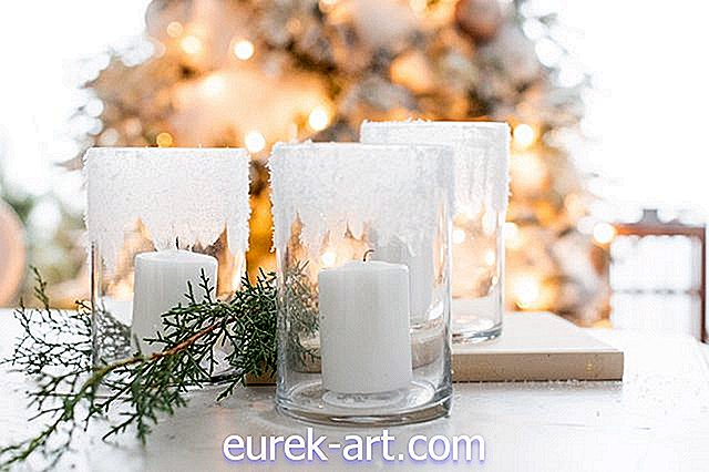 Iced Candle Votives Tutorial