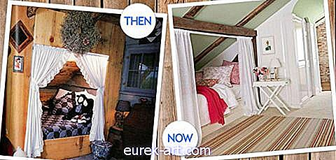 idea menghias - Kemudian vs Now: Cozy Bed Nook