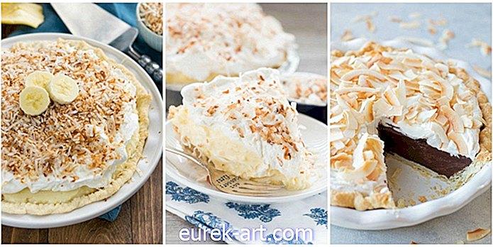12 recettes de tarte à la crème de noix de coco qui goûtent comme le paradis