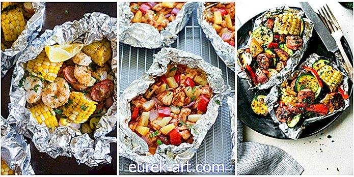 12 Resipi Packet Foil untuk Makan Malam Summer Mudah