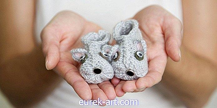 12 af de søteste DIY-gaver, der skal laves til nyfødte