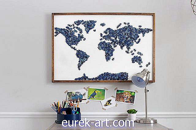 hjem - DIY Upcycled Puzzle Wall Wall Art