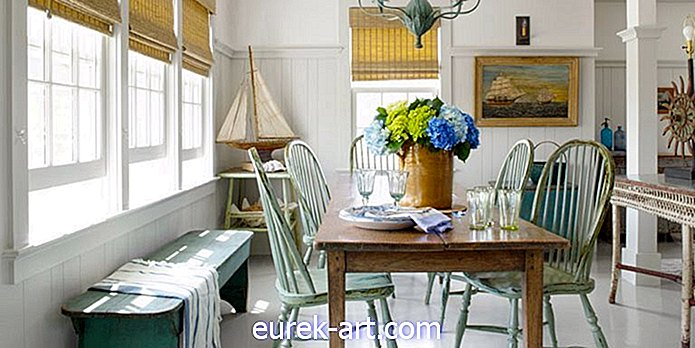 Coastal Decorating Ideas från en Nantucket Cottage