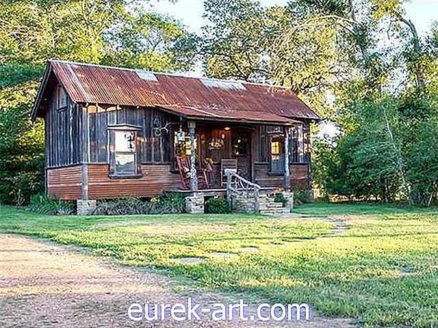 House Crush: tour in questa piccola casa sul lago di salvataggio chic in Texas