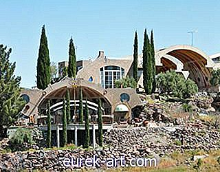 perjalanan - Inn of the Month: Arcosanti, Arizona
